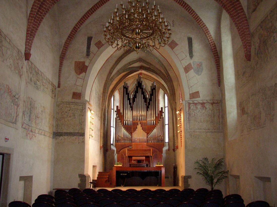 Varhany koncertní síň