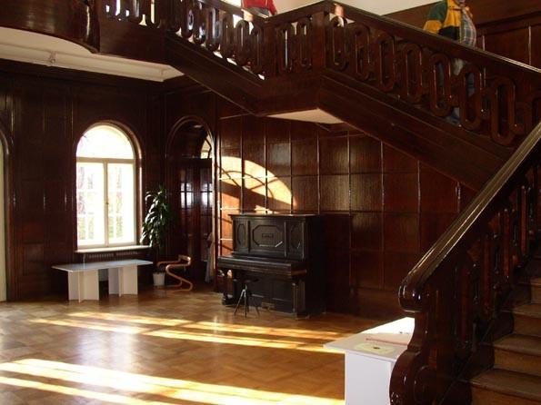 schodiště steuerova