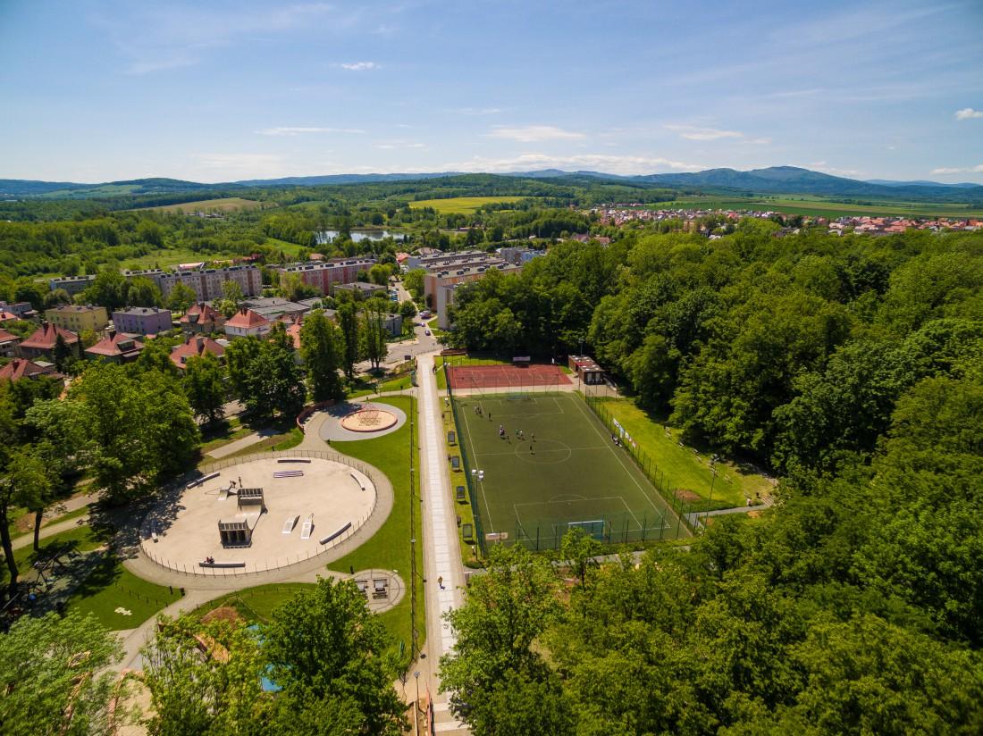park dron