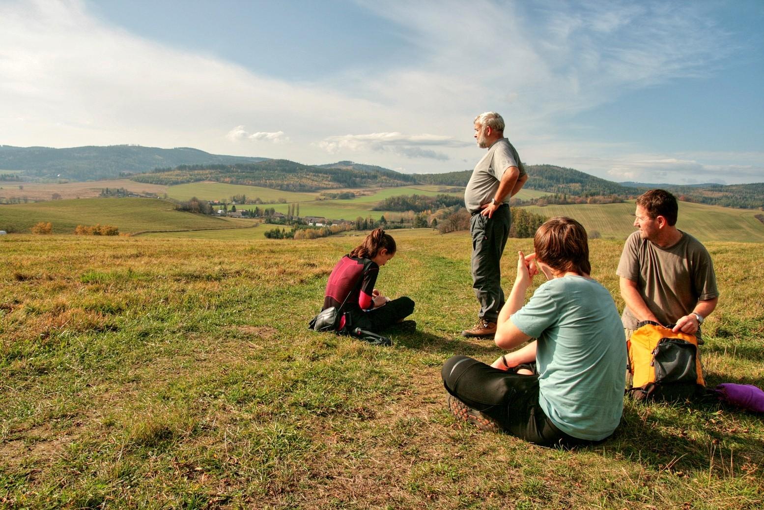 kraj pohádkových rozhledů pro malé i velké turisty