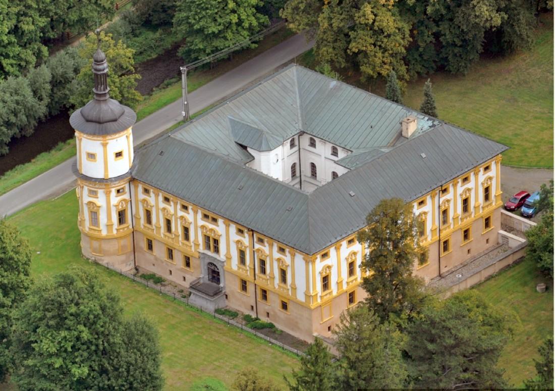 Zámek Linhartovy, Město Albrechtice