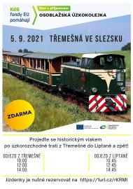 Projeďte se historickým vlakem po úzkorozchodné trati z Třemešné do Liptaně a zpět! - náhled