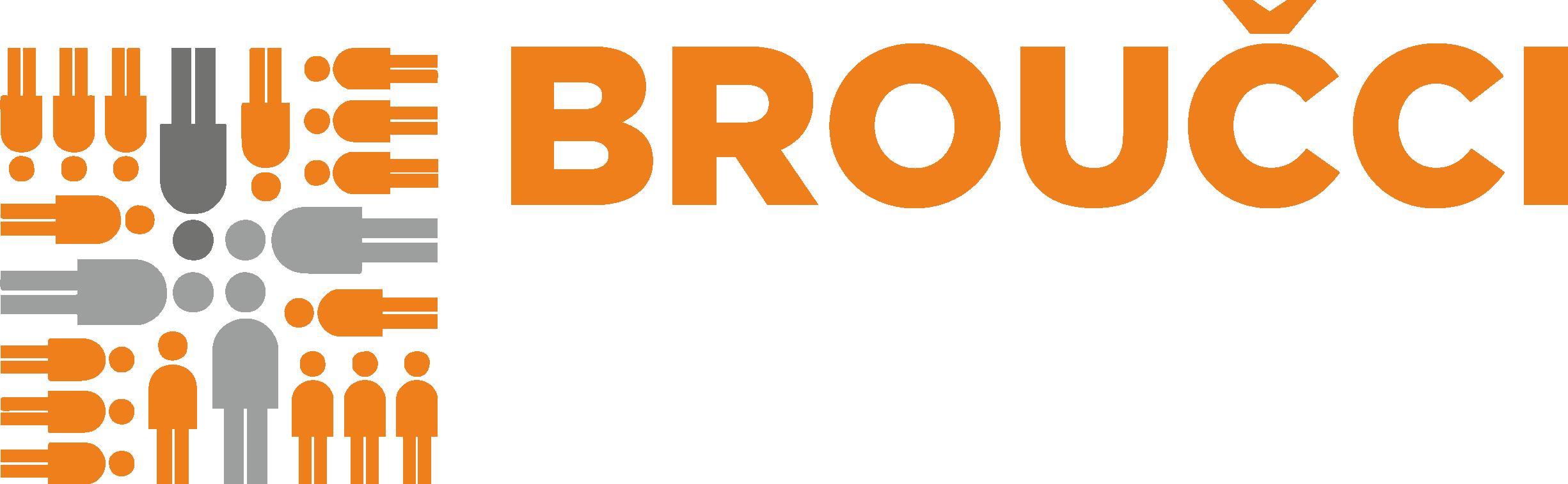 Logo pro Klub rodiče s dětmi Broučci