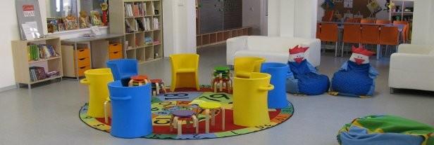 Dětské oddělení na pobočce Vítkovice