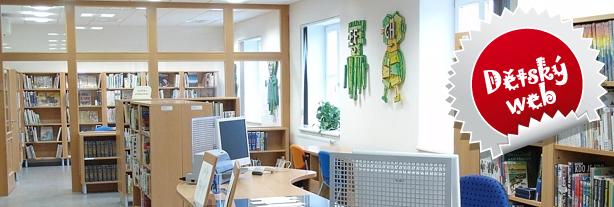 Knihovna města Ostravy - dětský web