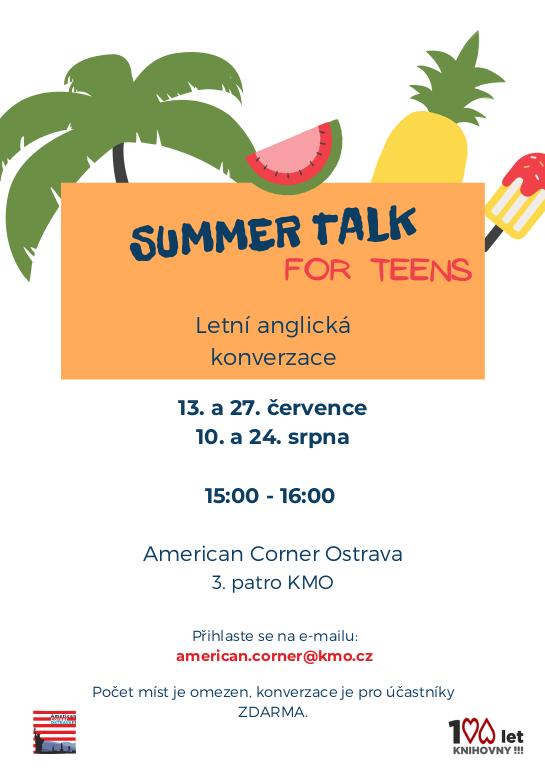 Summer Talk For Teens