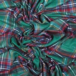 čtvercová šála deka zimní 2375-1