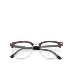 Sluneční brýle čirá skla coxes hnědé 4