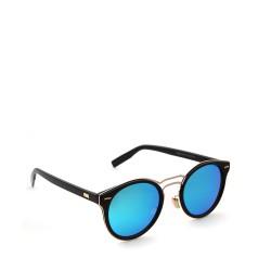 kulaté sluneční brýle stylové tmavá skla 12