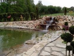 zahradní jezírko Ostrava