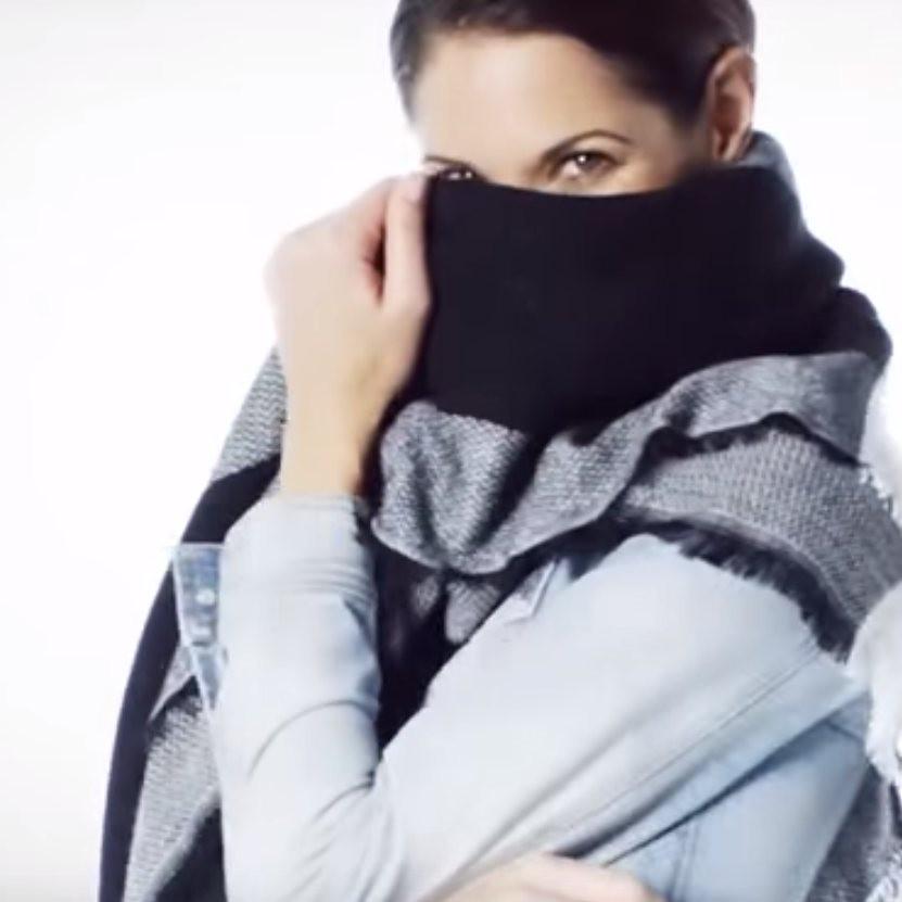 d775a3c0629 4 způsoby jak uvázat šál DEKA. - Jak uvázat šátek - šátky levně ...