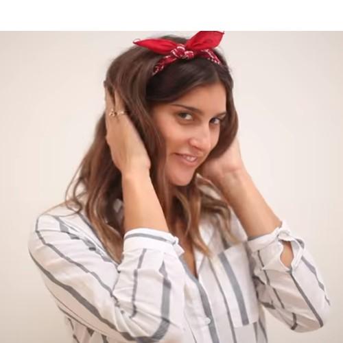 8b449ad9a6b Jak uvázat šátek BANDANA! - Jak uvázat šátek - šátky levně
