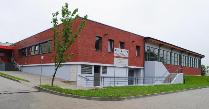 Budynek Krytej Pływalni w Kietrzu