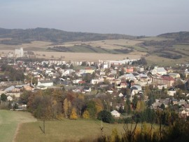 panorama města albrechtic