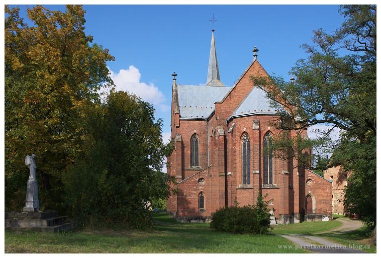 Karmelita - Liptaň kostel