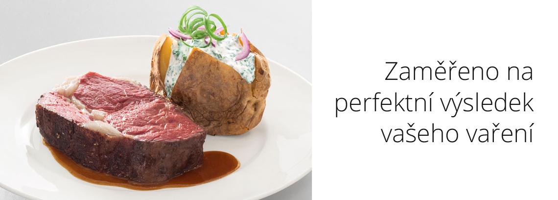 zaměřeno na perfektní výsledek vaření