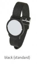 Bezkontaktní hodinky - černé