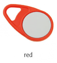 Bezkontaktní přívěsek TEARDROP - červený