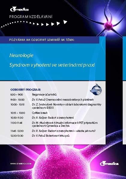Neurologie seminář pozvánka CZ