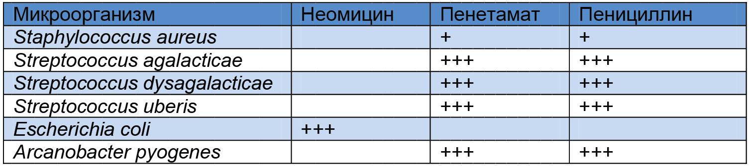 Таблица Мультимаст DC