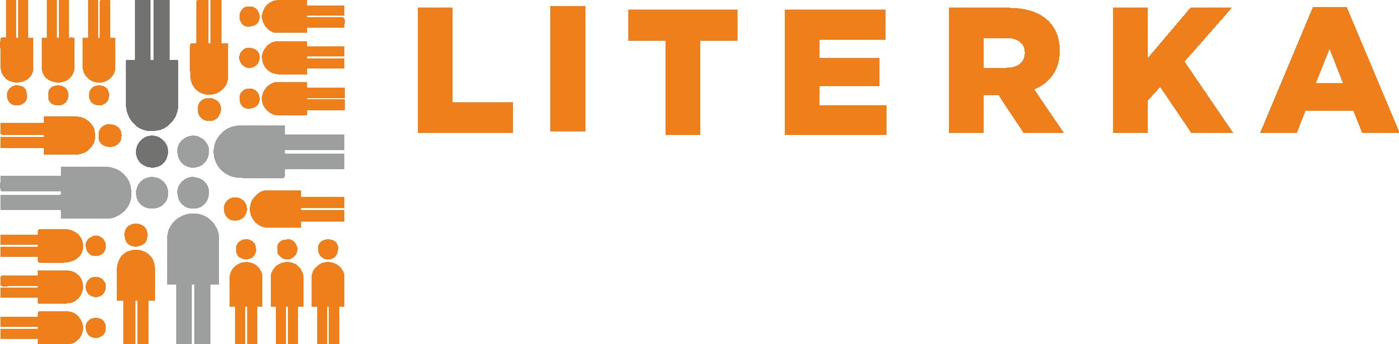 Logo pro Klub pro rodiče s dětmi Literka