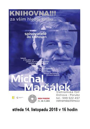 Spisovatelé do knihoven - Michal Maršálek