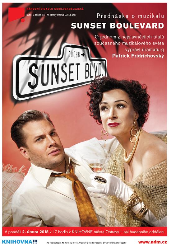 Přednáška o muzikálu Sunset boulevard