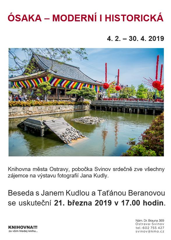 Ósaka - moderní a historická