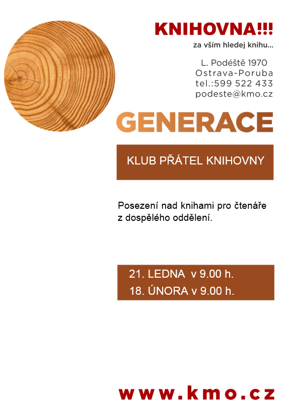 Generace - Klub přátel knihovny