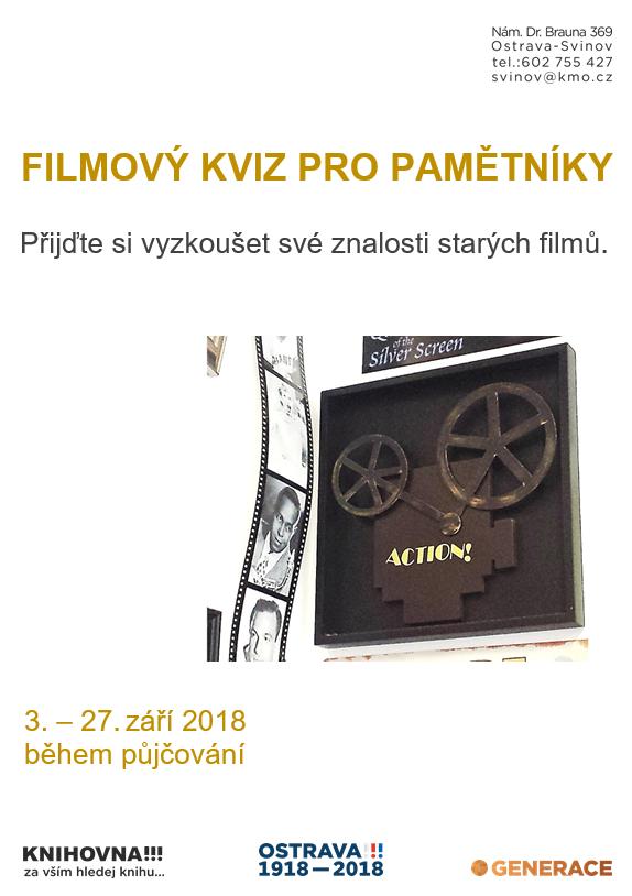 Filmový kviz pro pamětníky