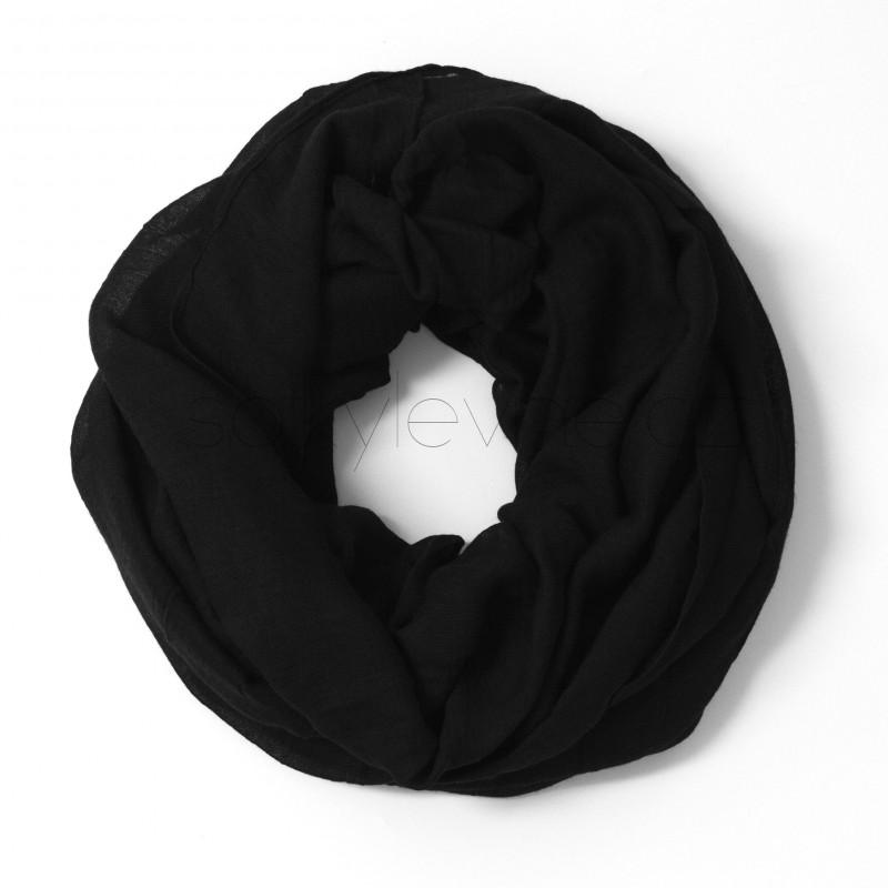 jednobarevný šátek roura 1540 (1)