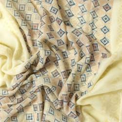 šátky na krk roura nekonečné rovné se vzorem jednobarevné 1577-1 (1)
