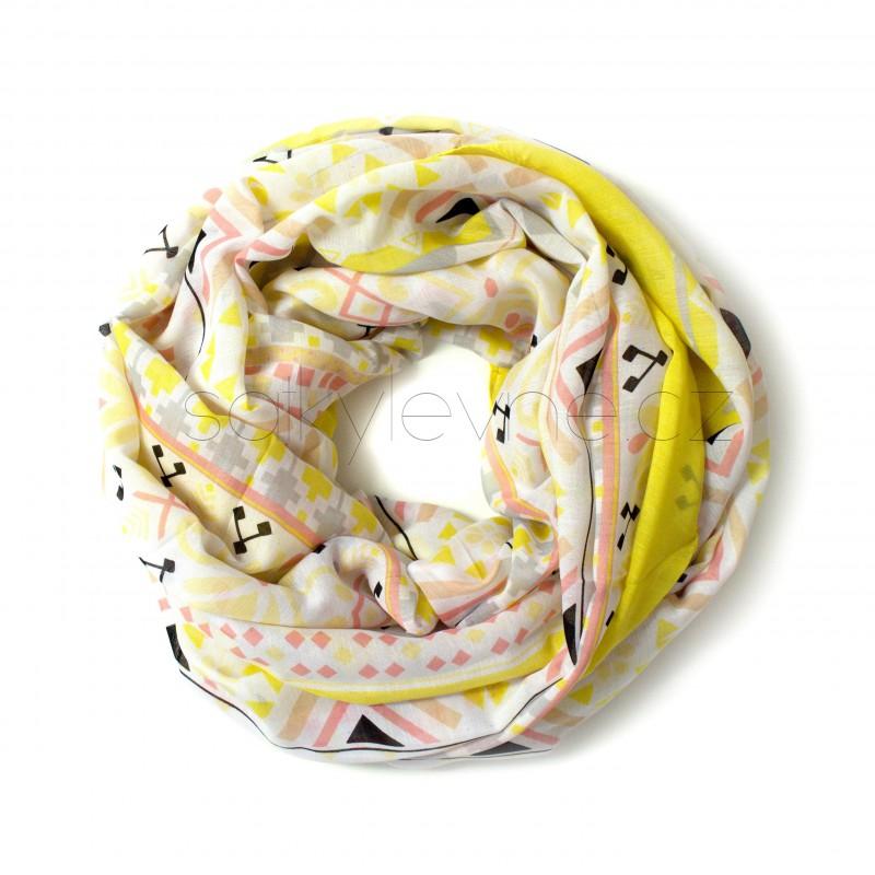 nekonečný šátek na krk 1697 (1)