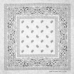 šátek do vlasů bandana čtvercový 1903-1 (1)