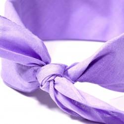 šátek do vlasů bandana jednobarevný 1962-1 (1)