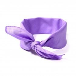 šátek do vlasů bandana jednobarevný 1962 (1)