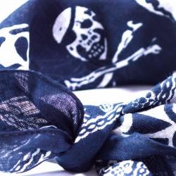 šátek do vlasů vzor lebky2134-1 (1)