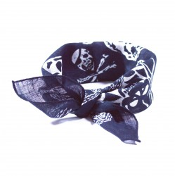 šátek do vlasů vzor lebky2134 (1)