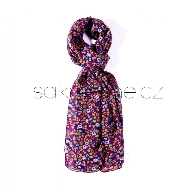 dlouhý šátek na krk 2185 (1)