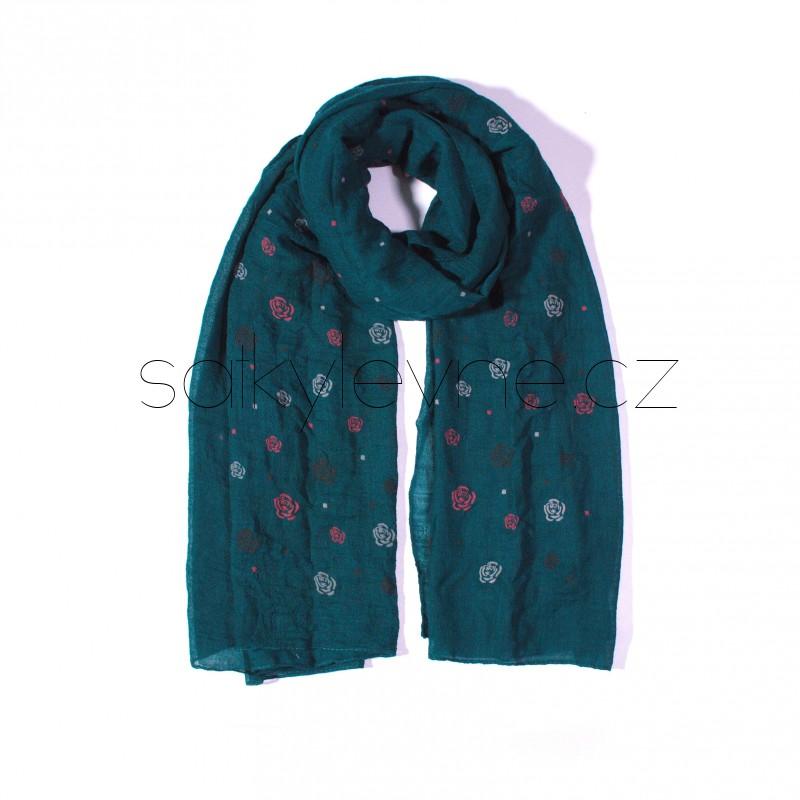 stylový šátek levně 2227 (1)
