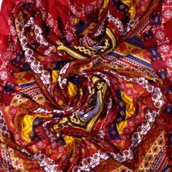 extra velký šátek s třásněmi orient 2236-1 (1)