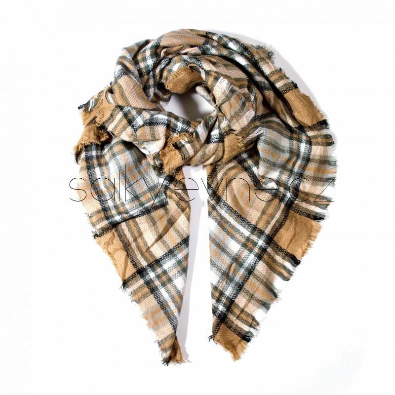 zimní šála deka 2269 (1)