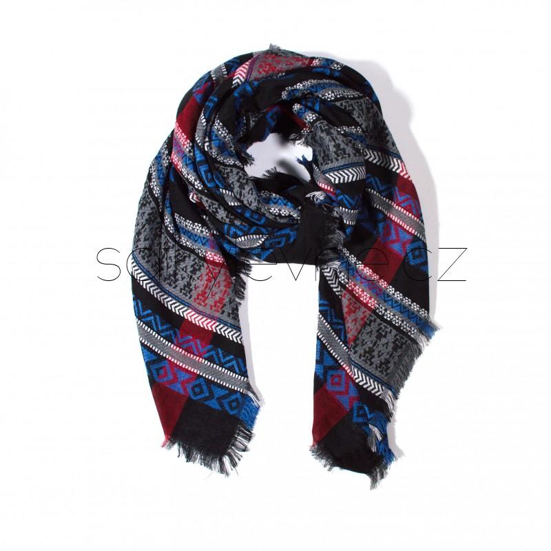 zimní šála deka 2302 (1)