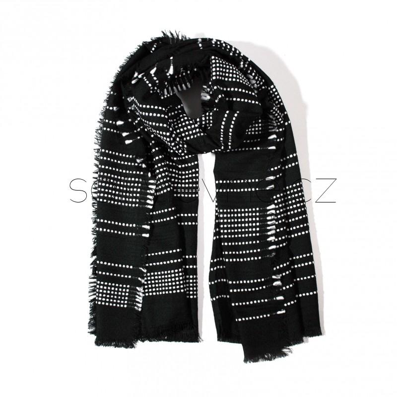 zimní šála deka 2306 (1)