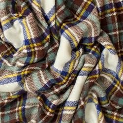 čtvercová šála se vzorem tartan 2358-1
