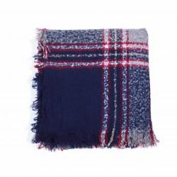 čtvercová šála deka zimní 2365-2