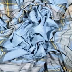čtvercová šála deka zimní 2366-1