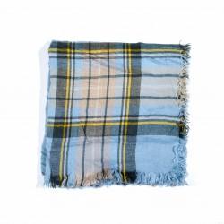 čtvercová šála deka zimní 2366-2