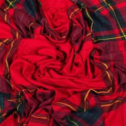 čtvercová šála deka zimní 2367-1