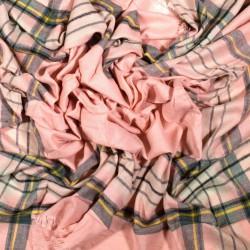 čtvercová šála deka zimní 2370-1